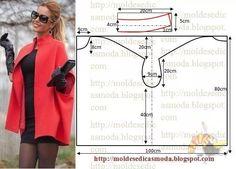 Впечатляющие модели пальто из одного куска ткани!
