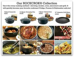 Rockcrok collection from Pampered Chef! www.pamperedchef.biz/tammygoad