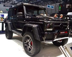 The Mercedes-AMG G 500 4x4 Squared-based Brabus 500
