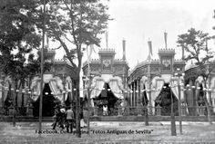 Sevilla - España. Caseta de Feria, año 1893..