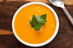 Butternut Squash Soup, a delicious soup packed with vitamins