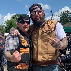 Bandidos Motorcycle Club, Motorcycle Clubs, Bikers, Chopper, Street, Colors, Biker Clubs, Choppers, Walkway