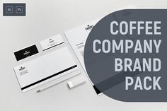 Caceres - Coffee Company Brand Pack by BART.Co Design on @creativemarket