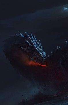 "fantasy-art-engine: "" Dragon Island by Bayard Wu "" Fantasy Concept Art, Fantasy Artwork, Magical Creatures, Fantasy Creatures, Illustration Fantasy, Fantasy Beasts, Dragon Artwork, Creature Concept Art, Fantasy Monster"