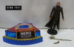 2009 Playmates Star Trek Movie Nero (Romulan) Loose & Complete Action Figure #PlaymatesToys