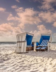 Beach of Sylt-North sea, Germany by Eva0707
