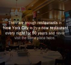 I did not need to know this. I have trouble enough deciding on where to eat!!!