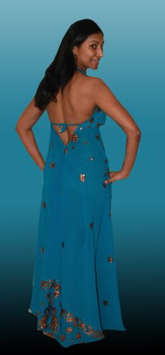 Handmade dress by me to Vabitha