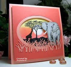 Tranquil Skys (FG) by Francie G. - Cards and Paper Crafts at Splitcoaststampers