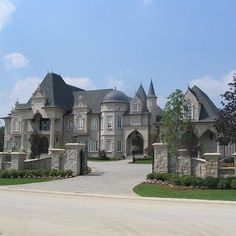 "The real mansion. 17 ""castlelike"" mansions that will fascinate you - Your Dream Home"