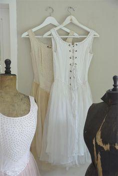 Jeanne d´Arc Living Tüll Kleid mit Korsage B Ware shabby Vintage Brocante