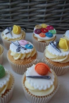 Lady Berry Sewing Cupcakes