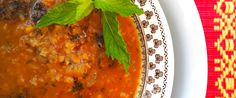 Ezogelin Çorbası -Turkish spicy red lentil soup – recipe courtesy of Beck Watson, student dietitian