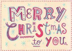 Merry Christmas by Linzie Hunter, via Flickr
