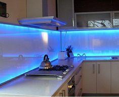 panou decorativ sticla iluminat