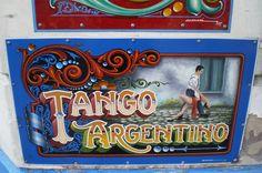 Lettering in Argentina(fileteado porteño)