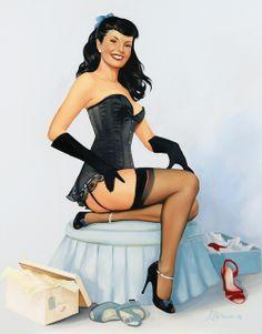 Pin Up Betty Page