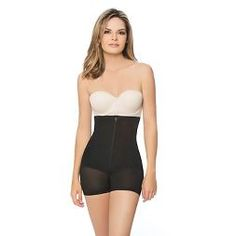 Women's Annette Faja Extra Firm Control High Waist Boy Short With Front Zipper already viewed