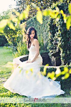Fairy tale bridal portraits