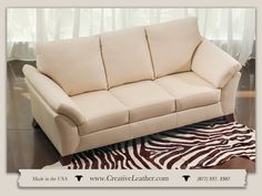 Classically contemporary in style with sophisticated looks and clean lines, the Valencia is perfect for the modern home. The beautifully shaped arm and coordinated leg give this style a distinct edge over most urban designs. The Valencia is available in dozens of configurations.  Starting at $1699 www.creativeleather.com Leather Furniture, Custom Furniture, Sofa, Couch, Chair And Ottoman, Urban Design, Clean Lines, Contemporary, Modern