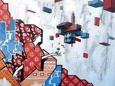 MUSA Etnik, Faenza [Via Seminario]    Alessandro Battisti, in arte ETNIK, ha vinto il concorso nazionale a cura di Distretto A - Faenza Art District    Maggio 2011    #streetart #faenza #etnik