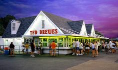Satisfy your sweet tooth at Ted Drewes with some signature frozen custard