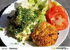 Kapustové karbanátky pečené v troubě recept - TopRecepty.cz Avocado Toast, Cabbage, Grains, Eggs, Treats, Vegetables, Breakfast, Fitness, Catalog