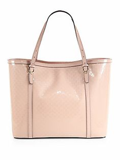 Gucci Nice Microguccissima Patent Leather Tote  Love this for spring!!!!