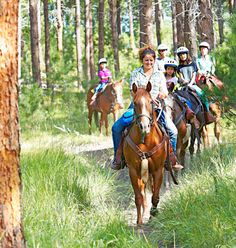 Do and see in the Black Hills area of the Dakotas.