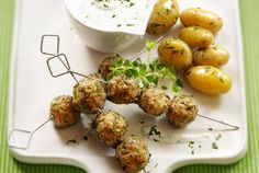 Love Greek Food? Try These Lamb Meatballs with Tzatziki