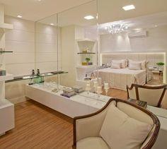 Apartamento com decoração clássica e contemporânea neutra chiquérrimo!