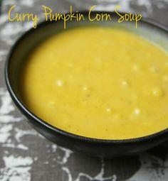 curry pumpkin corn soup
