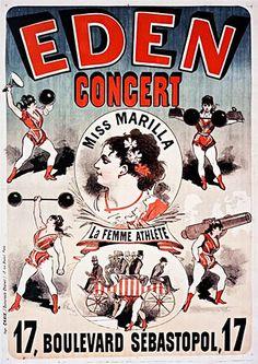 Eden Concert. Jules Cheret (1881)