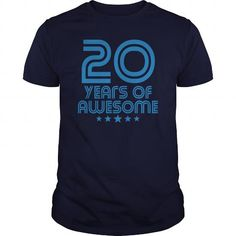 20 Years Of Awesome 20th Birthday