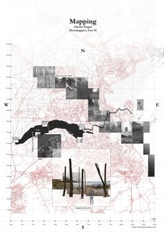 Mapping - Journey from land to lake - - Landscape Architecture Model, Architecture Portfolio Layout, Architecture Drawing Plan, Architecture Drawing Sketchbooks, Water Architecture, Architecture Mapping, Conceptual Architecture, Architecture Concept Diagram, Architecture Wallpaper