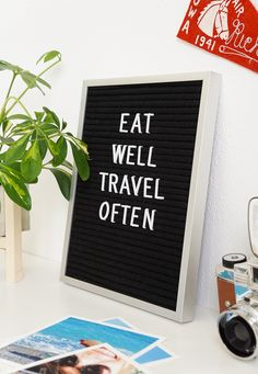 Vintage felt message boards are making a comeback in a huge way, but rather than displaying daily diner specials as in decades past, you'll…