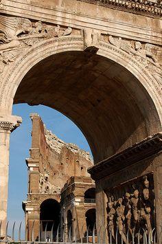 Roma: Arco di Costantino e Colosseo ♠