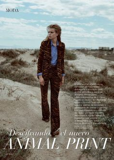 One of the boldest trends of the fall-winter season happens to be animal prints. And in the November 2016 issue of TELVA Magazine, the Spanish fashion glossy spotlights several ways to mix it up. Model Linda Slava poses on the beach in this editorial captured by Jonathan Segade. From moto jackets to fur pieces and …