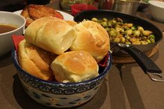 Homemade Dinner Rolls for Thanksgiving