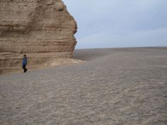 "Desert close to Dunhuang, Gansu Province, China film location of ""Hero"" 《英雄》"