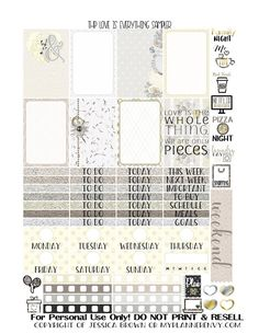 Free Printable Love Is Everything Sampler for the Classic Happy Planner from myplannerenvy.com