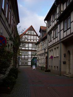 Medieval Street - Hameln, Germany