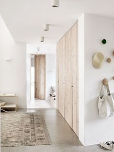white interior with gray and tan accents, pantone warm sand, light beige