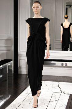 Balenciaga Fall 3013.  Beautiful tailoring.  Shame about the headband.