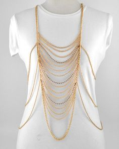 Elegance Body Chain Necklace, $29.99 #jewelry #accessorize (http://shopchameleon.com/new-arrivals/elegance-body-chain-necklace/)