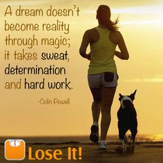 Keep on working towards your goals! www.loseit.com