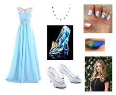 """""""Cinderella"""" by ladybugsandcats ❤ liked on Polyvore featuring West Coast Jewelry"""