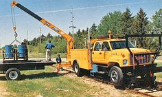 UNIC Truck-mounted crane Truck Mounted Crane, Trains, Monster Trucks, Vehicles, Car, Train, Vehicle, Tools