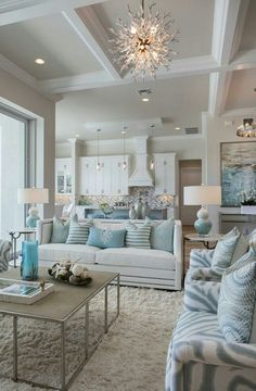 Etonnant Good Beach Inspired Living Rooms 45 Beautiful Coastal Decorating Ideas For  Your Inspiration EcstasyCoffee.