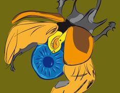 8. El escarabajo de la Faraona